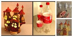Here is an amazing tutorial of how to DIY Fairy House Lamp Using Plastic Bottles. It's a perfect project to do with kids during summertime.