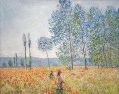 Claude Monet, Under The Poplars, 1887, Barberini Museum, Potsdam, source