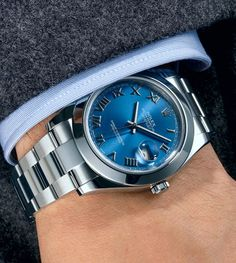 Steel Oyster Perpetual Datejust II watch $7,150 by Rolex