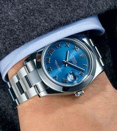 Steel Oyster Perpetual Datejust II watch $7,150 by Rolex