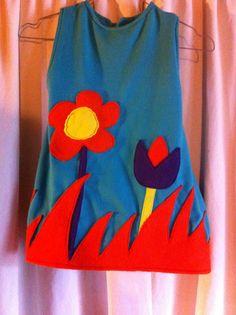 Couture et création: Petite robe chasuble pour ma nièce