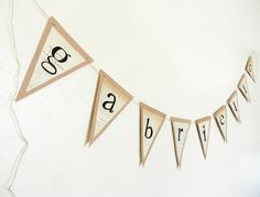 Decoration, Summer Classroom Decorations Modern Home Living Brand With Triangle Recycled Paper Banner DIY: Stunning Summer Party Decorations Inspirations 2015 Style Graduation Banner, Graduation Parties, Birthday Parties, Baby Birthday, Birthday Ideas, Summer Party Decorations, Diy Banner, Banner Ideas, Paper Banners