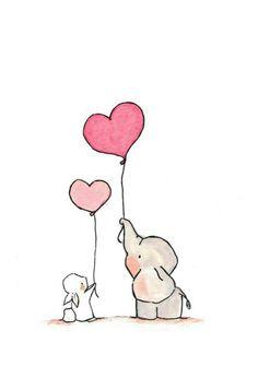 Quick drawing Pokoje Pro Miminka Se Slonem, Výzdoba Dětského Pokoje, Kresby Disney, Kresby Tužkou, Sloni, Malby, Pěkné Kresby