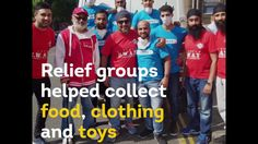 London's Muslim community is coming together to assist the victims of th...