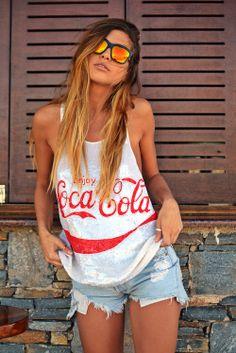 nat's diaries: Coca Cola hits the street