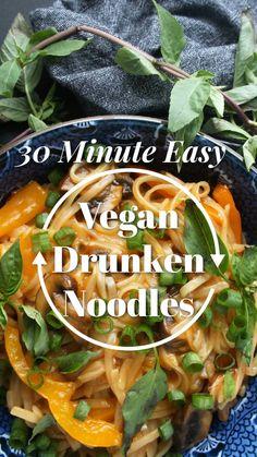 Vegan Recipes Easy, Organic Recipes, Veggie Recipes, Asian Recipes, Whole Food Recipes, Cooking Recipes, Vegan Vegetarian, Vegetarian Recipes, Vegan Food