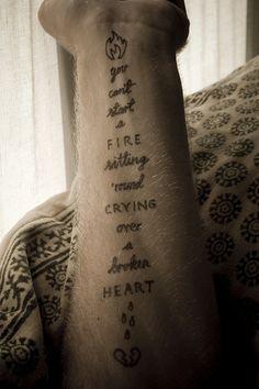 Springsteen tattoo