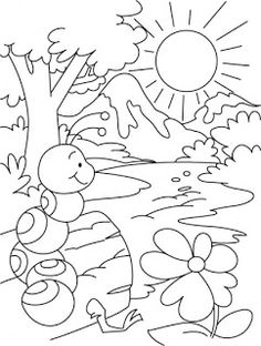 A boy riding an elephant coloring page Download Free A boy