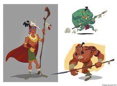 Aztec Warriors