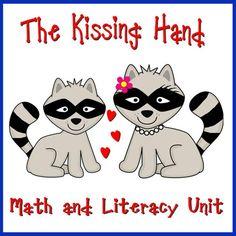 The Kissing Hand- beginning of school activities