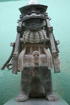 Mexico. Arte Zapoteca. Museo Rufino Tamayo. (Oaxaca)
