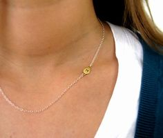 initial necklace $30
