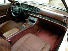 1986 Porsche 944 Turbo, interior