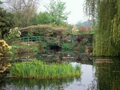 Home And Garden Of Claude Monet Giverny France #ponds #plants #homegarden