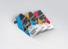 Diamond Classy Tri-Fold Brochure Template 000747
