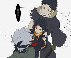 Obito and Kakashi Anime Naruto, Naruto Shippuden, Boruto, Comic Naruto, Kakashi And Obito, Manga Anime, Team Minato, Naruto Teams, Naruto Pictures