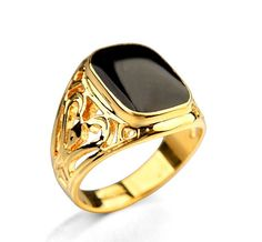 Cheap punk ring, Buy Quality men ring directly from China rose gold Suppliers: Rose Gold Silver Plated Hollow Out Men Ring Hot Sale Online Vintage Gothic Punk Ring bague anel anillos bijoux Couple Rings Gold, Gold And Silver Rings, Black Rings, Punk Jewelry, Star Jewelry, Men's Jewellery, Gothic Jewelry, Luxury Jewelry, Jewelry Rings