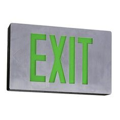 This Way To The Exit! Exit Sign $88