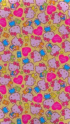 I Phone 7 Wallpaper, Hippie Wallpaper, Hello Kitty Wallpaper, Iphone Wallpaper Tumblr Aesthetic, Retro Wallpaper, Kids Wallpaper, Cute Wallpaper Backgrounds, Cute Cartoon Wallpapers, Aesthetic Wallpapers