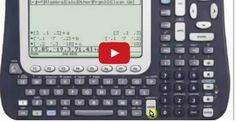 Cálculo Diferencial - Cómo Derivar en la Calculadora Texas Instruments Voyage 200 Calculus, Algebra, Calculator, Ecommerce, Geometry, Education, 3d, Trigonometry, Shape