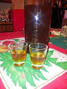 Vanille - Likör mit Honig