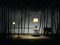 Pantographe reading lamp and Pantographe arc lamp, shade in kaolin vice-versa… Set Design Theatre, Stage Design, Hermes Home, Stage Beauty, Dark Photography, Scenic Design, Lighting Design, Decoration, Cool Designs