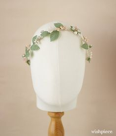 Hey, I found this really awesome Etsy listing at https://www.etsy.com/ca/listing/215214330/spring-wedding-headband-bridal-headpiece
