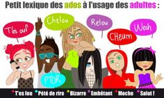 Les expressions des adolescents http://www.liberation.fr/video/2014/03/21/crari-staive-wesh-les-expressions-preferees-des-ados_988867