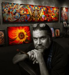 Ricardo Chavez-Mendez - Fine Artist
