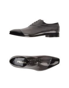 PRADA Men - Laced shoes #shoes #prada #fashion