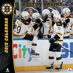 Turner Perfect Timing 2015 Boston Bruins Team Wall Calendar, 12 x 12 Inches (8011719) Turner