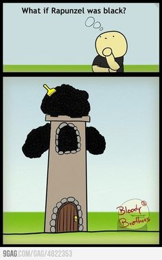 What if Rapunzel was black?