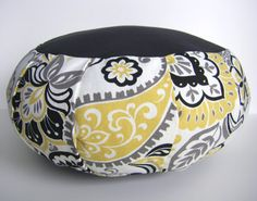 Zafu Meditation cushion/ Pillow Cover ONLY by 1treeyoga on Etsy