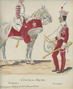 Empire, German Uniforms, Napoleonic Wars, Military, Painting, French, Austria, Musicians, History