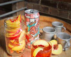 ARIZONA SPICED TEA 1.5oz@CaptainMorganUS Original Spiced Rum 4.5oz@AriZona Iced Tea Iced Tea Pour 1.5oz Captain Morgan Original Spiced Rum into a glass with ice. Add 4.5...