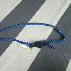 Forever 21 blue s/m rope belt New with tags Forever 21 Accessories Belts
