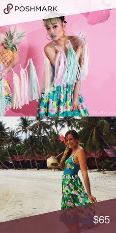 Kuccia Lily Pad Slip Dress NWT - Size small ModCloth Dresses Midi