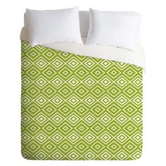 Lisa Argyropoulos Diamonds Are Forever Fern Duvet Cover by DENY Designs - 14520-DLIKIN