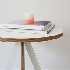 Inspired by typography London design brand, ByAlex, produce these side tables which consist of two interlocking A's. The simple yet playful design is produced in laminated FSC birch plywood.