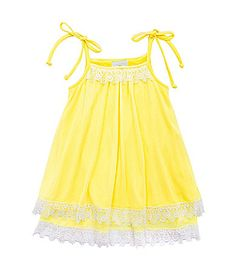 Rare Editions 2T6X Gauze Dress #Dillards