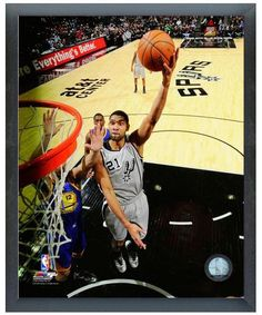 "Tim Duncan 2012 San Antonio Spurs - 11"" x 14"" Photo in a Glassless Sports Frame"
