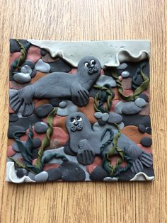 FIMO 50 World project tile from Felicity Harvey, Great Britain
