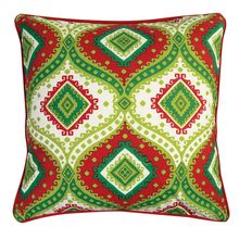 "Merriment Pillow - 18"" Square- $26.99 from Uptown Simple #decorativepillow #throwpillow #homedecor #holidays"