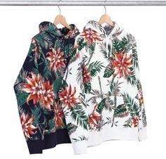supreme floral pullover