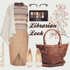 Librarian look : Mocca theme