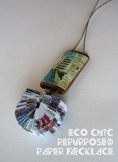 YNYNT – Eco Chic Handmade Necklace from La Alicia