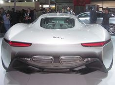 UFO ?? NO ....THE NEW UCOMING SUPER ( ELECTRIC ) CAR FROM JAGUAR - C-X75 !, via Flickr.