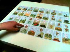 """http://www.esoterikwelle.de  In Kartenlegen lernen gratis zeige ich euch in der großen Tafel mit den Lenormandkarten, wie ihr einzelne Themenkarten korrespondiert. Der Schwerpunkt dieser Legung ist Karma und Liebe.  Wenn Du gerne Kartenlegen lernen möchtest besuch gerne meine Seminar oder gönne dir das E-Book """"Einmal Mischen Bitte"""", Anleitung zum Kartenlegen.  Private preiswerte beratungen mit mir kannst du auf www.esoterikwelle.de buchen."""