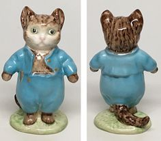 """Beswick Beatrix Potter Figurine """"Tom Kitten """" Gold BP-1A #Beswick Was:US $224.99  What does this price mean? You save: $33.75 (15% off) Price: US $191.24"""