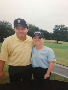 Frank Harber and Anika Sorenstam LPGA Legend